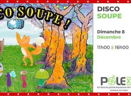 Disco soupe / 8 Décembre / 11h00 - 16h00 /