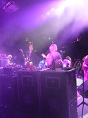 Dancing at the Greek Theater for The String Cheese Incident. Super fun !!