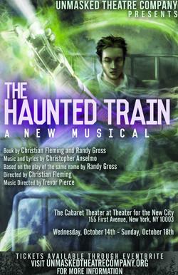 haunted train poster copy