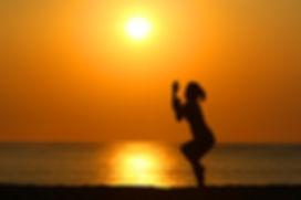 バリ島, ビーチフォト, ヨガ, サンセットビーチ, ロケーション, ヨガポーズ, 写真, 撮影