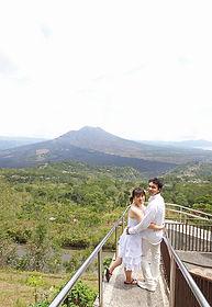 バリ島, 観光フォトツアー, キンタマーニ高原, 撮影, 写真, ハネムーン