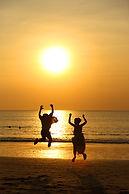 撮影, フォトツアー, バリ島, ビーチ, サンセット, 砂浜