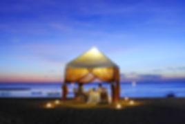 バリ島, Majoly, レストラン, マジョリ, サンセット, ビーチ, フォト, ディナー, ロマンティック, テント