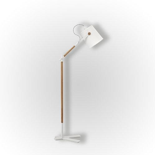 4920 Luminária de Piso Nordica Branca