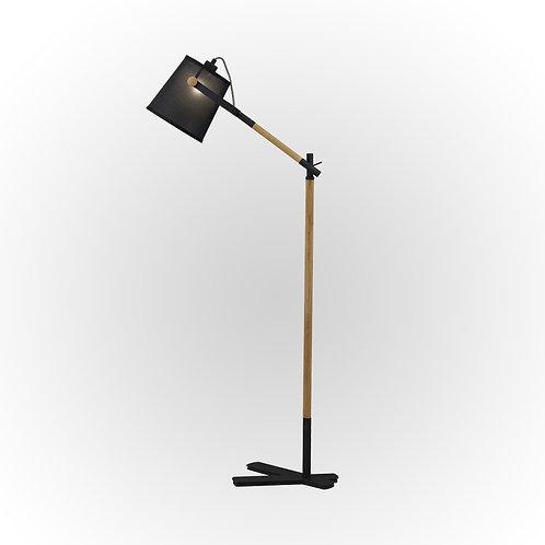 4921 Luminária de Piso Nordica Preta
