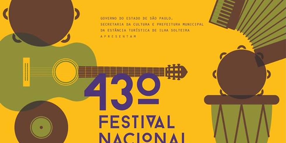 43º Festival Nacional de MPB de Ilha Solteira