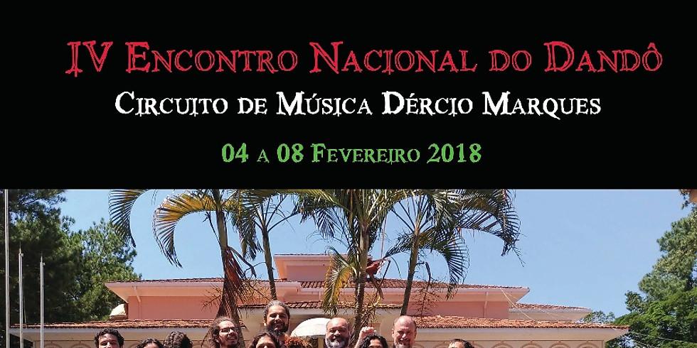 Show de encerramento do IV Encontro Nacional do Dandô 2018