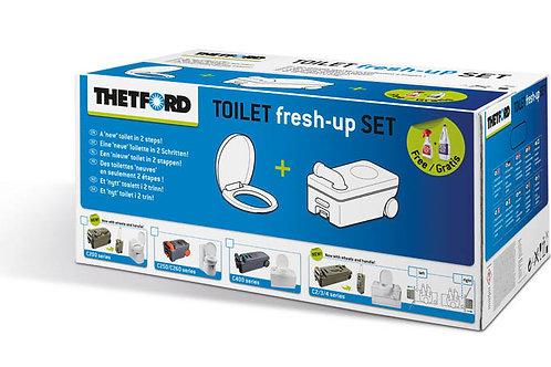 toilet fresh-up set
