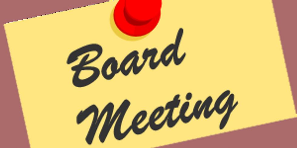 May Board Meeting