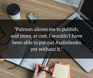 Using Patreon and Youtube to Connect with Readers