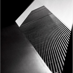 World Trade Center Through Ideogram Sculpture