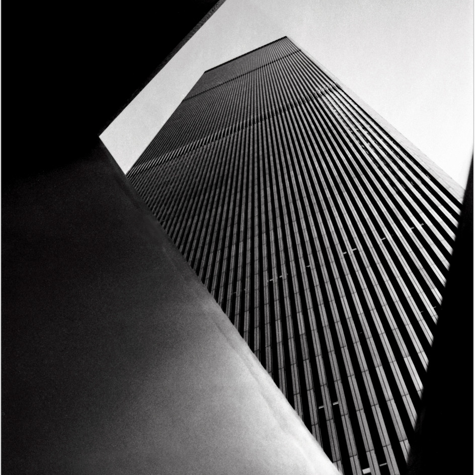 World Trade Center Through Ideogram Sculpture