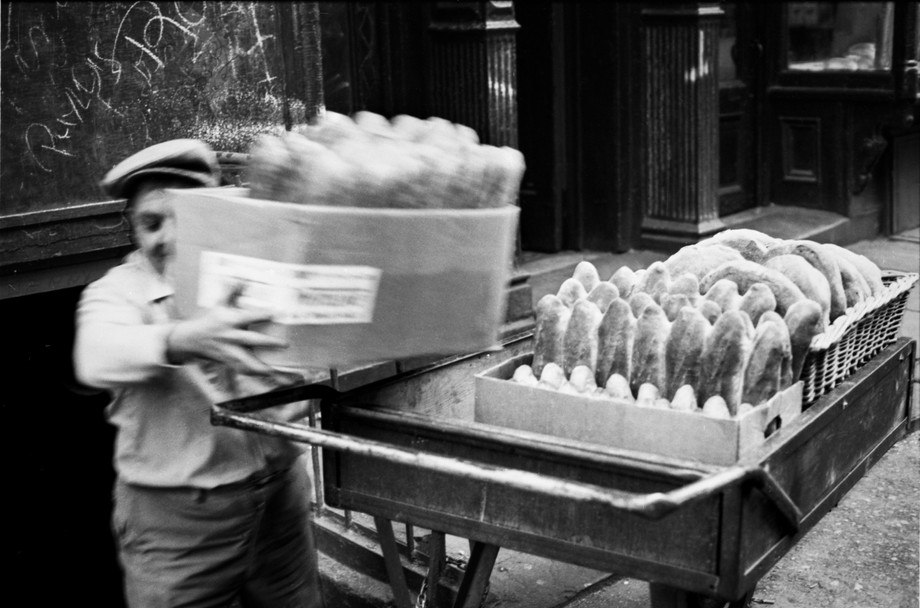 Bread Delivery, Mulberry St 1974