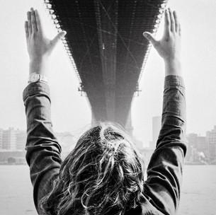 Michael Under The Brooklyn Bridge 1970's