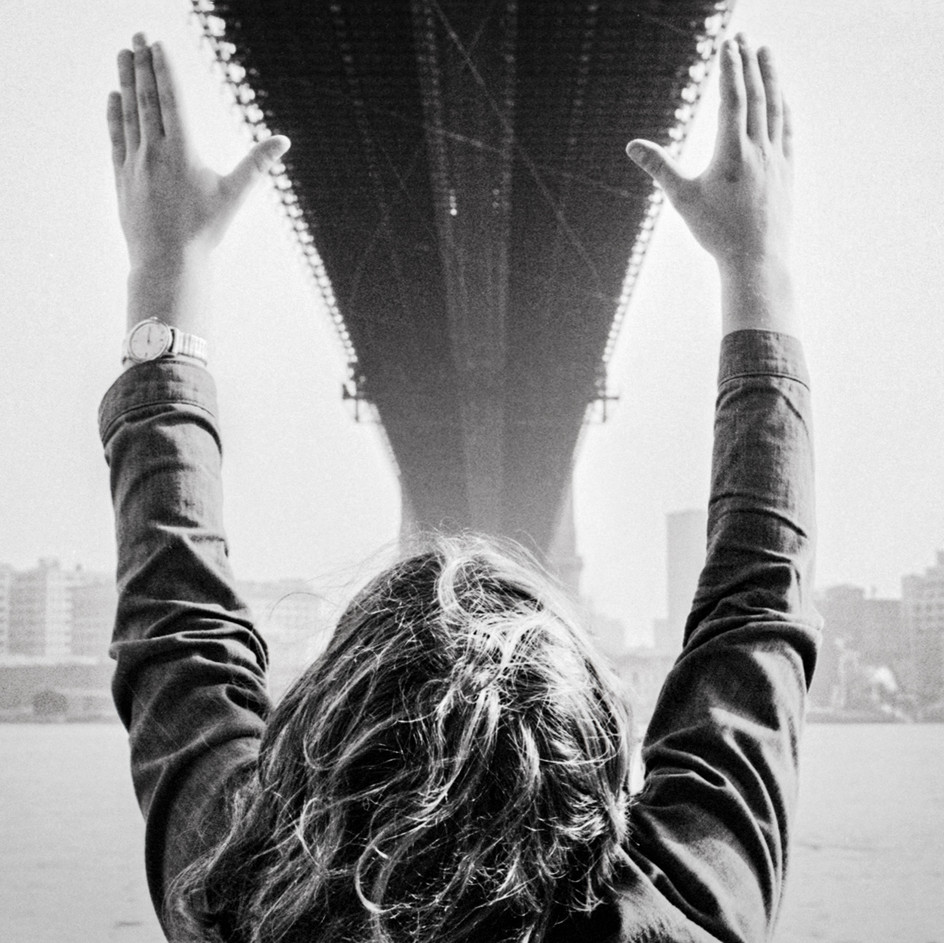 Michael Under The Brooklyn Bridge 1970's