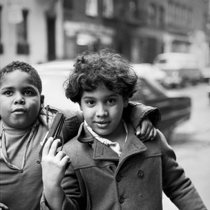 Children With A Toy Gun, Mott St. 1970's