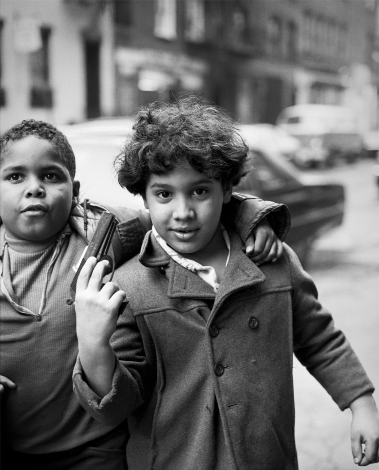 Children With A Toy Gun, Mott St. 1970's