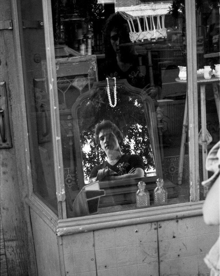 Mirror Reflection, Lower East Side, NYC 1970's