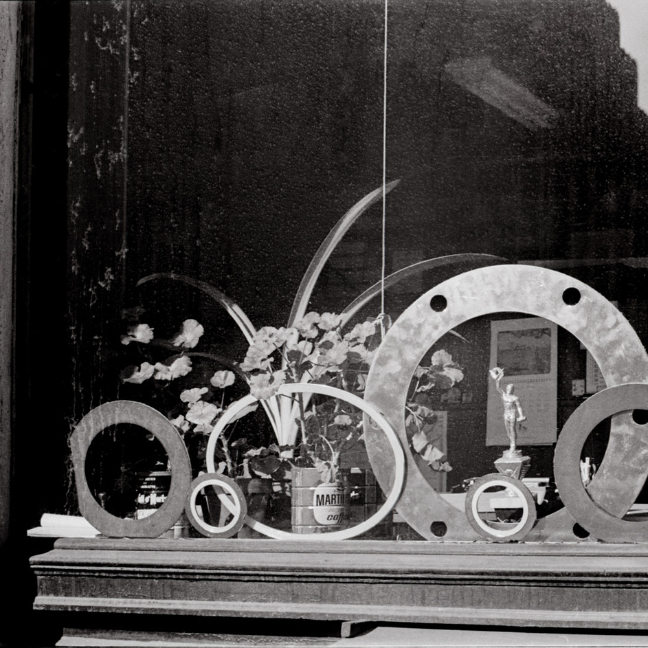 Soho Store Window NYC 1970's