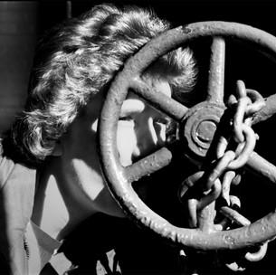 Looking Through A Wheel