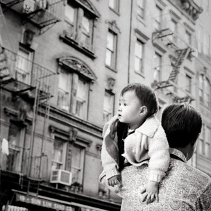 Dragon Spotted, Mott St. NYC 1970's