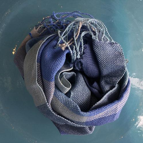 Sciarpa in lino e cotone