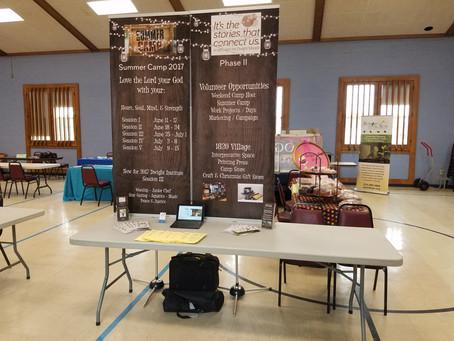 Tri Presbytery Booth