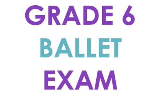 ISTD Grade 6 Ballet Exam & Coaching