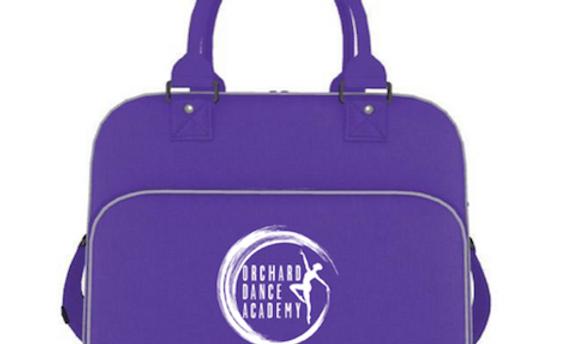 Purple Dance Bag