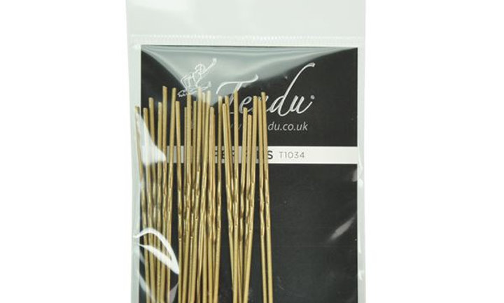 Pack of 12 hair pins (available in 3 colours)