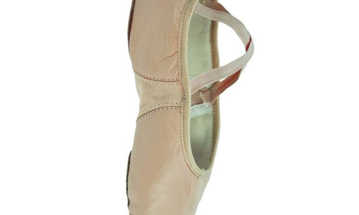 Girls Senior Split Sole Ballet Shoes