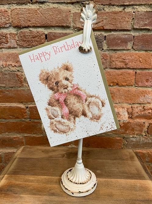 """""""Hattie"""" Happy Birthday Card"""