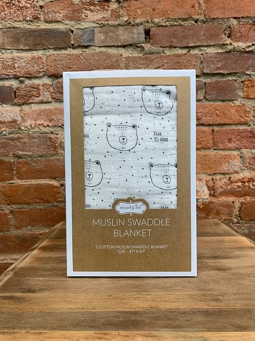 Bear Swaddle Blanket