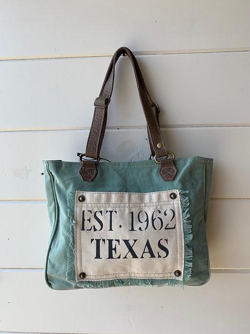Turquoise Texas Small Bag