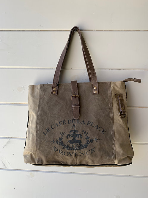 """Provence"" Canvas Tote Bag"