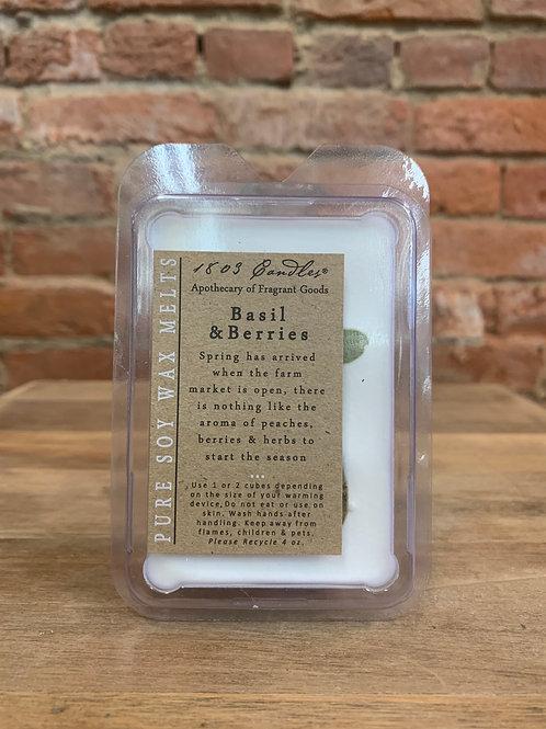 Basil & Berries Wax Melt