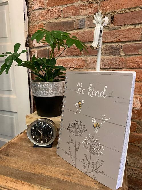 """Be Kind"" Spiral Notebook"