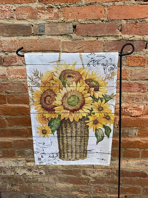 """""""Sunflower"""" Garden Flag"""