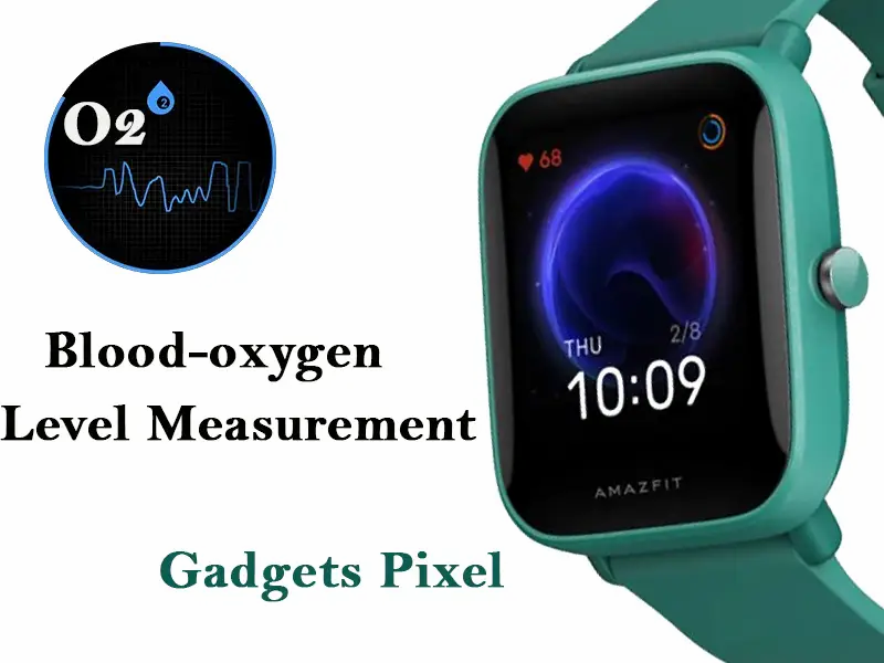 amazfit bip u pro blood oxygen measure