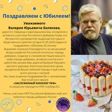С Юбилеем Белякова В.Ю.