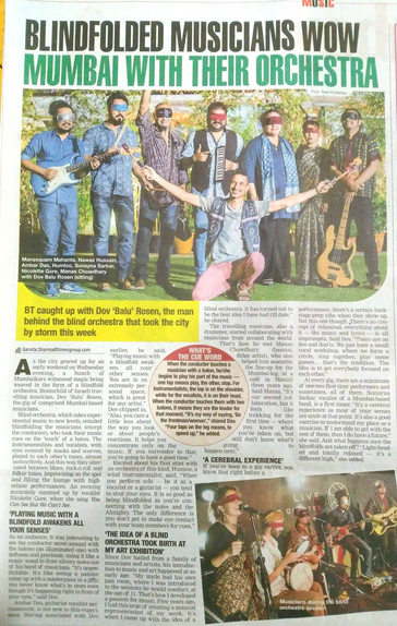 Times of India show review (print)