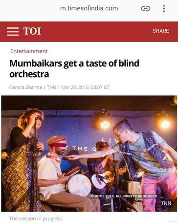 show review in Times of India, Mumbai