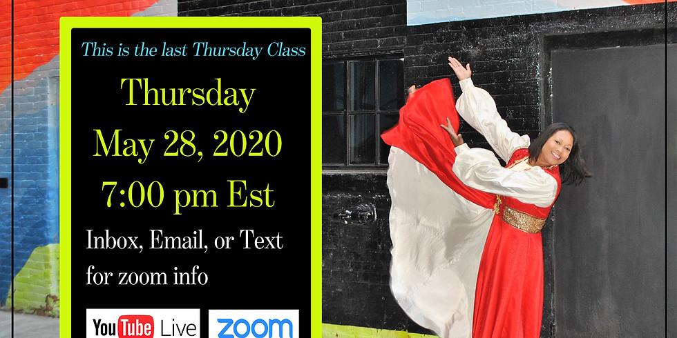 Virtual Choreography Class