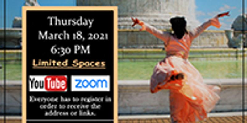 March 18 In-Person Thursday Choreography Class w/Min. Yolanda Rountree