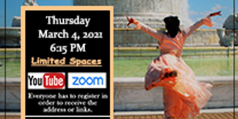 March 4 Virtual Thursday Choreography Class w/ Yolanda Rountree