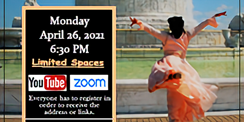 April 26 Virtual Monday Choreography Class w/ Yolanda Rountree