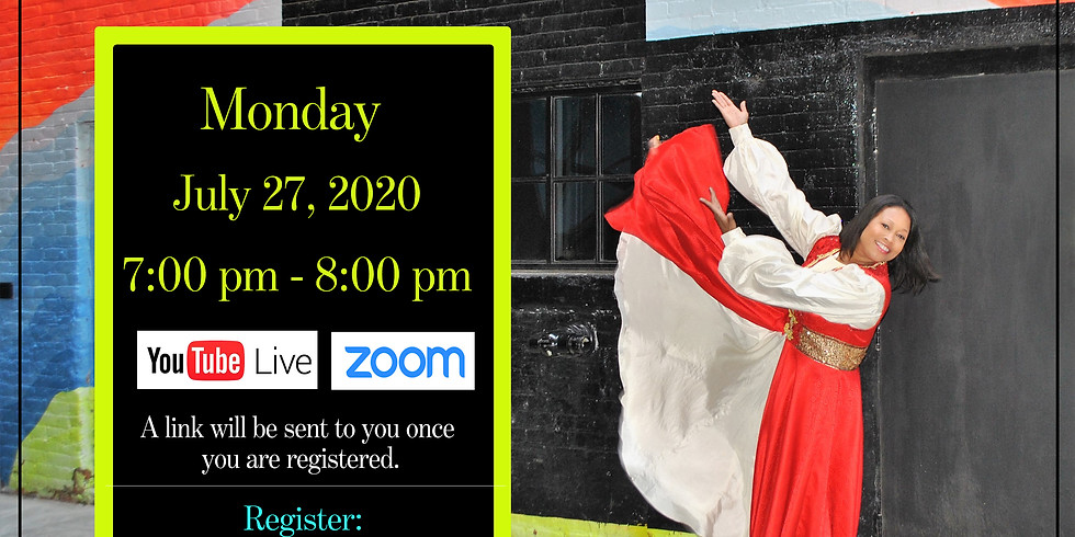 July 27 Daily ($7) Monday Virtual Choreography Class