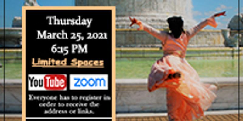 March 25 In-Person Thursday Choreography Class w/Min. Yolanda Rountree