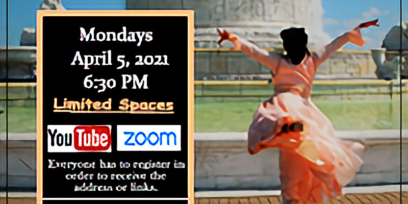 April 5 Virtual Thursday Choreography Class w/ Yolanda Rountree