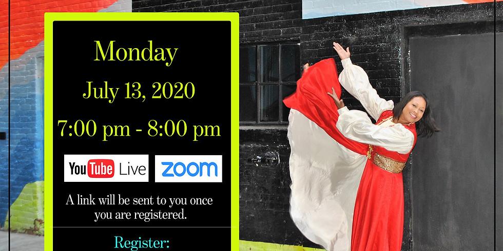 July 13 Daily ($7) Monday Virtual Choreography Class